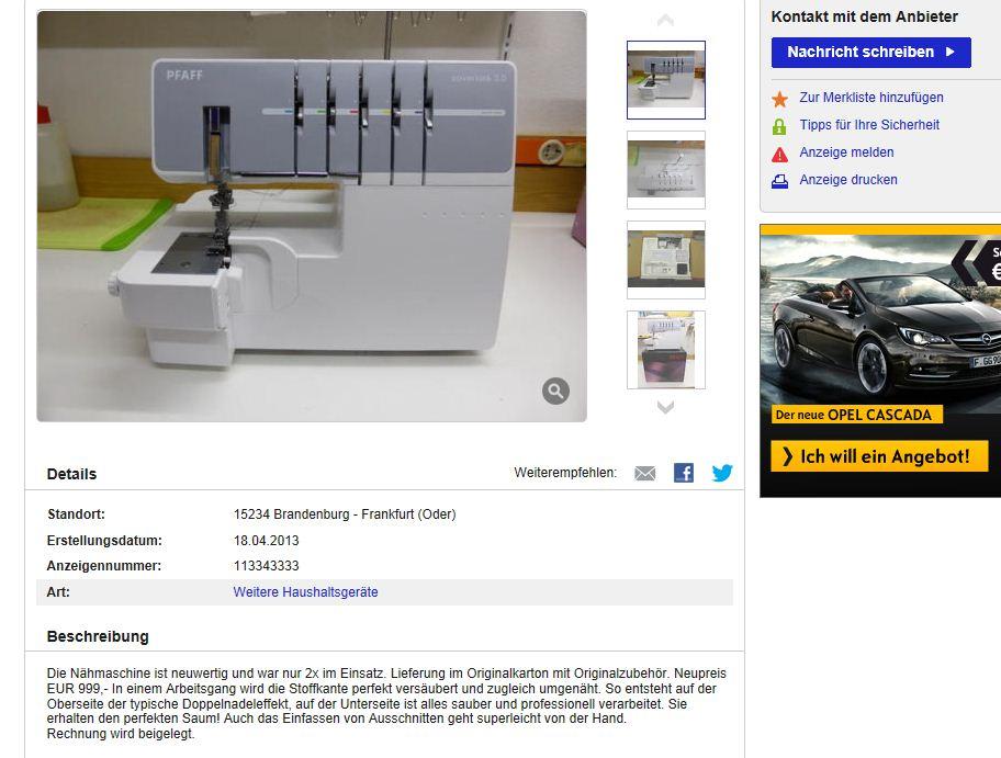 Ebay Kleinanzeigen Löscht Meine Anzeige